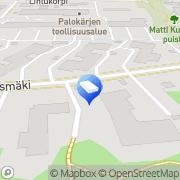 Kartta Espoon kaupunki Kyyhkyspuiston päiväkoti Espoo, Suomi