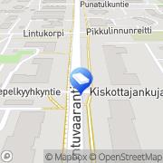 Kartta Päiväkoti Albatross englanninkielinen Espoo, Suomi