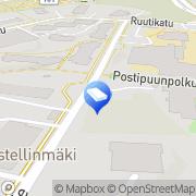 Kartta Espoon kaupunki Postipuun päiväkoti Espoo, Suomi
