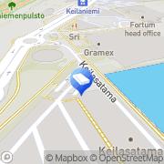 Kartta InterSystems B. V. Finland Espoo, Suomi