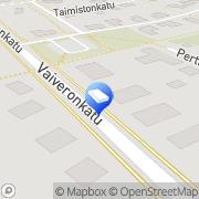 Kartta Kuljetusliike Terho Oy Vaivero, Suomi