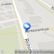 Kartta Kiinteistö Oy Hyvinkään Teollisuustarvike Hyvinkää, Suomi