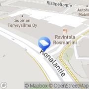 Kartta Ahlsell Oy tee-se-itse-toimiala Helsinki, Suomi