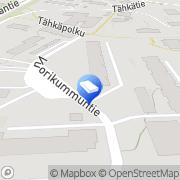 Kartta Asunto Oy Vuorikummuntie 9 Helsinki, Suomi