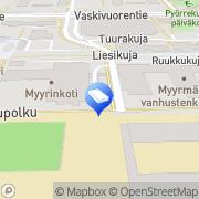 Kartta Vantaan kaupunki päiväkoti Meripihka Vantaa, Suomi