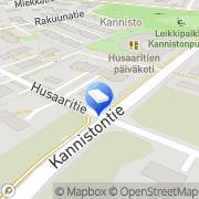 Kartta Vantaan kaupunki Kanniston päiväkoti Vantaa, Suomi