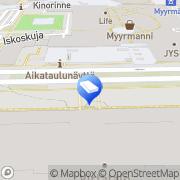 Kartta ISS Sairaalataito Oy Vantaa, Suomi