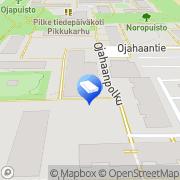 Kartta Vantaan kaupunki Ojahaan päiväkoti Vantaa, Suomi