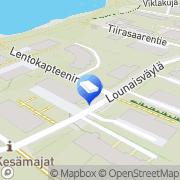 Kartta Insinööritoimisto Juhola M O Oy Helsinki, Suomi