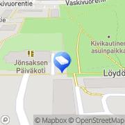 Kartta Vantaan kaupunki Jönsaksen päiväkoti Vantaa, Suomi