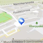 Kartta Raketa Tmi Helsinki, Suomi