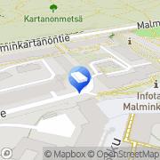 Kartta Rakennustoimisto Sauli Jämsä Oy Helsinki, Suomi