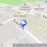 Kartta Teatteri Helmi Helsinki, Suomi