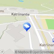 Kartta Vantaan kaupunki Seutulan päiväkoti Vantaa, Suomi