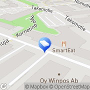Kartta SSH Communications Security Helsinki, Suomi