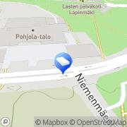 Kartta Helsingin OP-Kiinteistökeskus Oy / Haaga Helsinki, Suomi