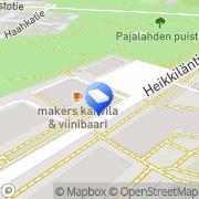 Kartta Admico Security Helsinki, Suomi