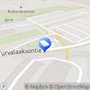 Kartta Loomis Suomi Oy, pääkonttori Vantaa, Suomi