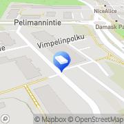Kartta Vahanen-yhtiöt Helsinki, Suomi