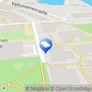 Kartta Helsingin kaupunki päiväkoti Veijari Helsinki, Suomi