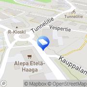 Kartta ViherViiva Helsinki, Suomi