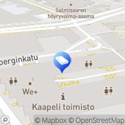 Kartta Borenius &  Hjeco Oy Ab Helsinki, Suomi