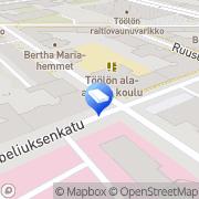 Kartta Insinööritoimisto Rictor Oy Ab Helsinki, Suomi