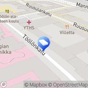 Kartta Kiinteistö Lamara Oy Helsinki, Suomi