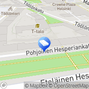 Kartta A-List LKV Helsinki, Suomi