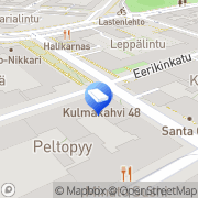 Kartta Vision way Helsinki, Suomi