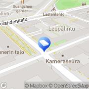 Kartta Partinen Olli Juhani Helsinki, Suomi