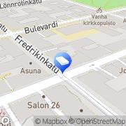 Kartta Lucky 13 Helsinki, Suomi
