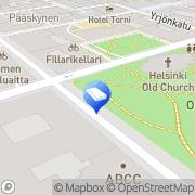 Kartta Kiinteistö Oy Atomitalo Helsinki, Suomi