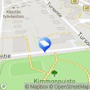 Kartta Euro-Asbest Oy Helsinki, Suomi