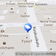 Kartta SOL Pesulapalvelut Oy Stockmann Helsinki, Suomi