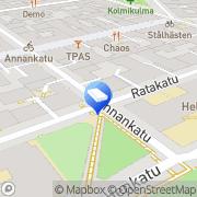 Kartta Mainostoimisto Red Storm &  Partners Oy Helsinki, Suomi
