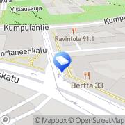 Kartta Sanoma Television Oy Welho Helsinki, Suomi