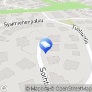Kartta Insinööritoimisto Rak-Ins Ky Helsinki, Suomi