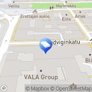 Kartta Sanoma Oyj Helsinki, Suomi