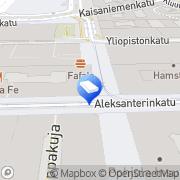 Kartta Amplion Asset Management Holding Oy Helsinki, Suomi