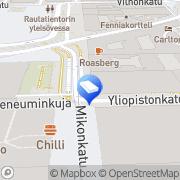 Kartta Kiinteistö Oy Hollolan Ostospaikka Helsinki, Suomi