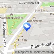 Kartta SOL Palvelut Oy Ullanlinna Helsinki, Suomi