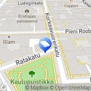 Kartta Asunto-oy Sarvastonkaari Helsinki, Suomi