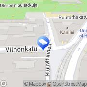 Kartta Pinomaa Law &  Economics Oy Ltd. Helsinki, Suomi