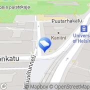 Kartta Kaisaniemen Dynamo Oy Helsinki, Suomi