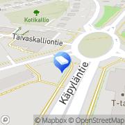 Kartta Asuntosaneeraus Jaatinen Ky Helsinki, Suomi