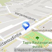 Kartta SOL Pesulapalvelut Oy Oulunkylä Helsinki, Suomi