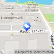 Kartta Kirstu design Helsinki, Suomi