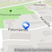 Kartta K-Halli Joenpolvi Oy Helsinki, Suomi