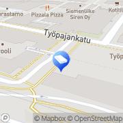 Kartta Bring Express Suomi Oy Helsinki, Suomi